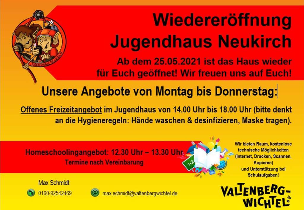Wiedereröffnung Angebot JH Neukirch