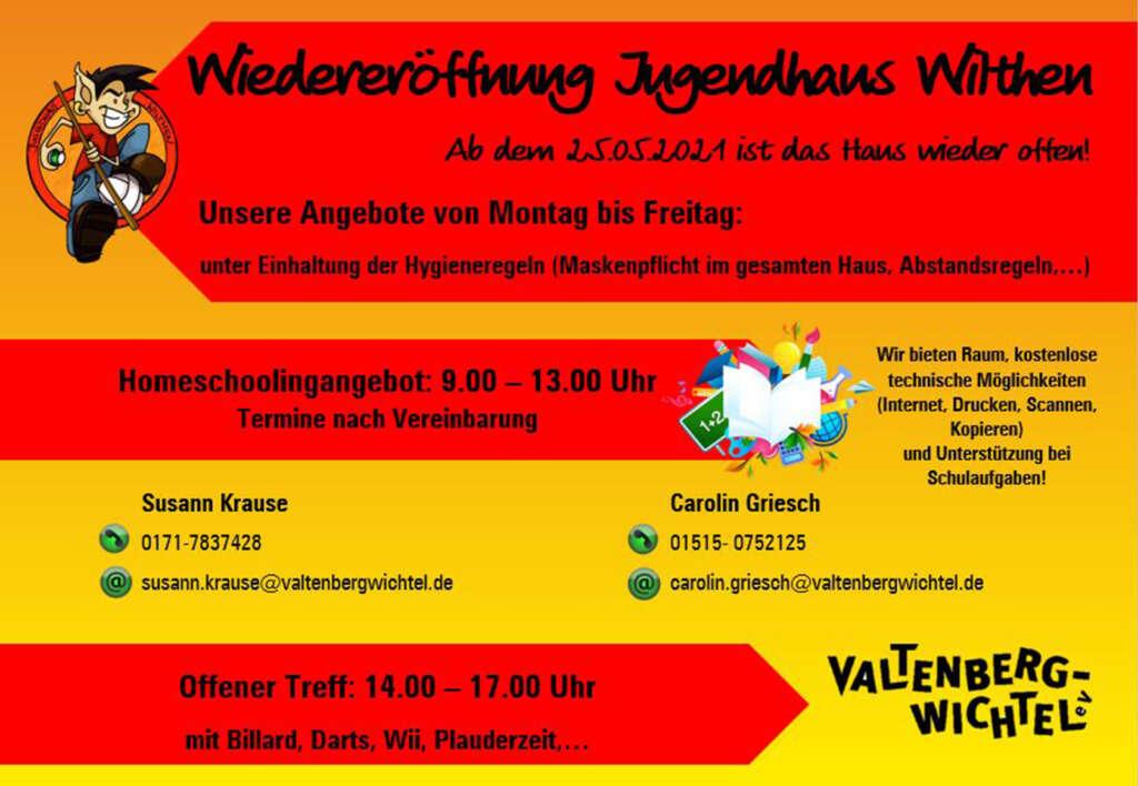 Wiedereröffnung Angebot JH Wilthen